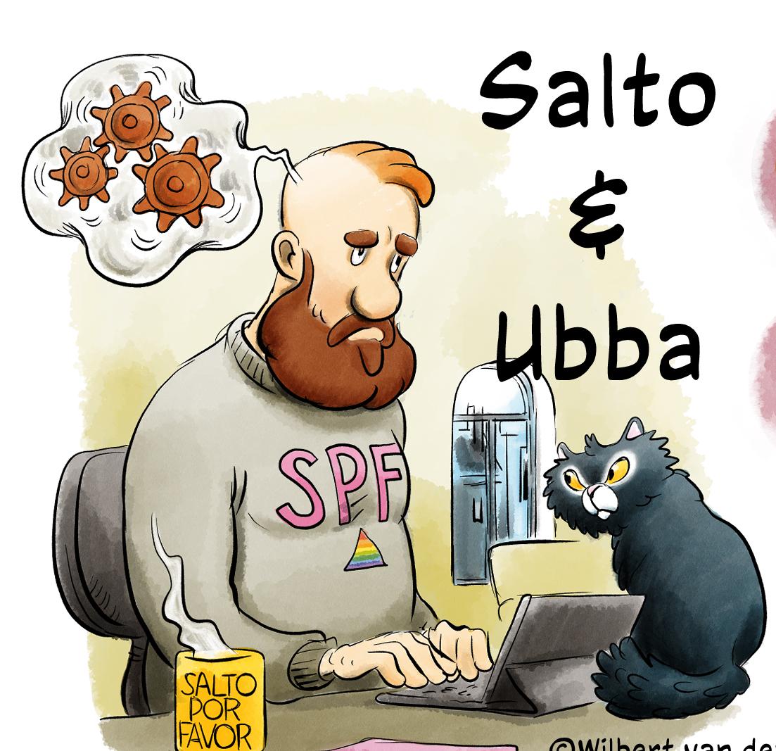 Lees meer over het artikel Wanneer komt Salto & Ubba BOEK1?